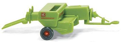 Wiking Farm Machinery CLAAS Markant Baler -- N Scale Model Railroad Vehicle -- #95940