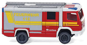 Wiking Rosenbauer RLFA 2000 AT Fire Department N Scale Model Railroad Vehicle #96303