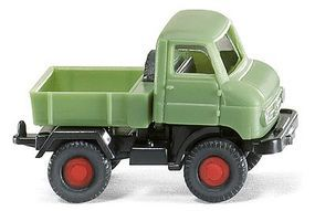 Wiking Unimog U 411 Assembled N Scale Model Railroad Vehicle #97201