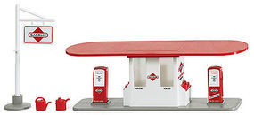Wiking Gasoline Gas Station Set
