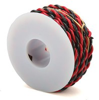 Wire-Works 2c Wire 18g 20' blk/red