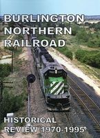 Withers Burlington Northern Historical Review 1970-1995 Model Railroad Historical Book #119