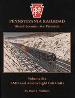 Withers Pennsylvania Locomotive Pictorial (Vol. 6) Model Railroading Book #86