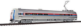 WKW Metroliner 4-Car Set - Tsunmai(R) Sound & DCC Amtrak (Phase I) Snack Bar #861, Parlors #884, 889, Coach #823