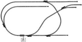 WKW IC Track Set 48x96 - HO-Scale
