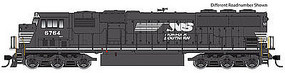 WalthersMainline EMD SD60M - SoundTraxx(R) Sound & DCC Norfolk Southern #6805 (black, white)