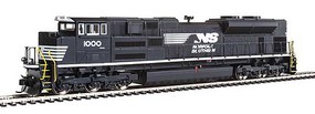 WalthersMainline EMD SD70ACe - ESU(R) Sound & DCC Norfolk Southern 1000 (black, white)