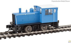 WalthersMainline Plymouth ML-8 Industrial Switcher w/DCC Painted, Unlettered w/Decals (medium blue)