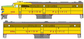 WalthersMainline Alco PA-PB Set w/SoundTraxx(R) Sound & DCC Union Pacific(R) #602, #607B (yellow, gray, red, green)