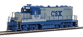 WalthersMainline EMD GP9 Phase II with Chopped Nose ESU(R) Sound and DCC CSX #1834 (gray, blue)