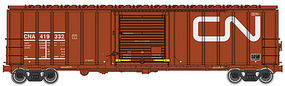 WalthersMainline 50 ACF Exterior Post Boxcar Canadian National #419332 HO Scale Model Train Freight Car #2129