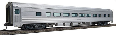 Walthers Mainline 85' Budd Large-Window Coach Painted Unlettered -- HO Scale Model Train Passenger Car -- #30000
