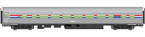 WalthersMainline 85 Budd Large-Window Coach Amtrak HO Scale Model Train Passenger Car #30001