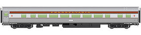 WalthersMainline 85' Budd Large-Window Coach Pennsylvania Railroad HO Scale Model Train Passenger Car #30006