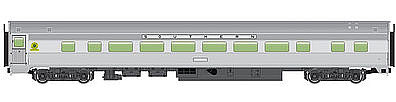Walthers Mainline 85' Budd Large-Window Coach Southern Railway -- HO Scale Model Train Passenger Car -- #30012