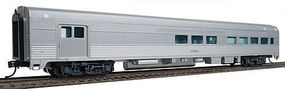 WalthersMainline 85 Budd Baggage-Lounge Painted Unlettered (Silver) HO Scale Model Train Passenger Car #30050