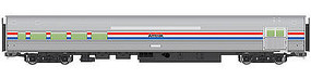 WalthersMainline 85' Budd Baggage-Lounge Amtrak HO Scale Model Train Passenger Car #30051