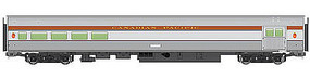 WalthersMainline 85 Budd Baggage-Lounge Canadian Pacific HO Scale Model Train Passenger Car #30054