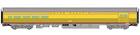 85' Budd Baggage-Lounge Union Pacific(R) HO Scale Model Train Passenger Car #30058