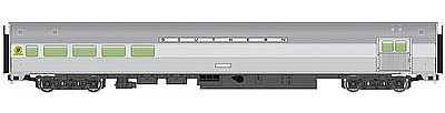 Walthers Mainline 85' Budd Baggage-Lounge Southern Railway -- HO Scale Model Train Passenger Car -- #30061