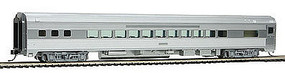 WalthersMainline 85 Budd Small-Window Coach Painted and Unlettered HO Scale Model Train Passenger Car #30200