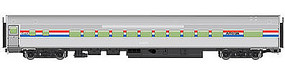 WalthersMainline 85' Budd Small-Window Coach Amtrak HO Scale Model Train Passenger Car #30201
