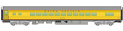 Walthers Mainline 85' Budd Small-Window Coach Union Pacific(R) -- HO Scale Model Train Pass -- #30204