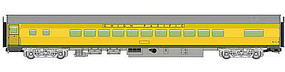 WalthersMainline 85 Budd Small-Window Coach Union Pacific(R) HO Scale Model Train Pass #30204