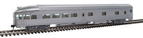 WalthersMainline 85 Budd Observation Painted and Unlettered HO Scale Model Train Passenger Car #30350