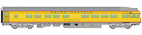WalthersMainline 85 Budd Observation Union Pacific(R) HO Scale Model Train Passenger Car #30358