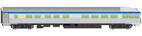WalthersMainline 85 Budd Observation Via Rail Canada HO Scale Model Train Passenger Car #30359