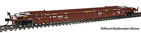 WalthersMainline NSC Stand-Alone 53 Well Car Canadian National GTW HO Scale Model Train Freight Car #5064