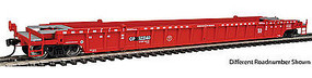 WalthersMainline NSC 3-Unit 53 Well Car Canadian Pacific #523152 HO Scale Model Train Freight Car #55062