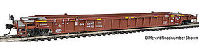 WalthersMainline NSC 3-Unit 53 Well Car Canadian National GTW #676068 HO Scale Model Train Freight Car #55063