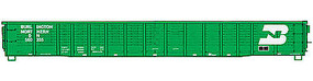 WalthersMainline 53 Corrugated-Side Gondola Burlington Northern #560355 HO Scale Model Train Freight Car #6053