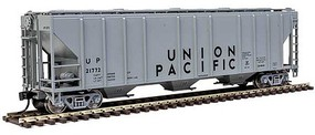 54' Pullman-Standard 4427 CD Covered Hopper - Ready to Run Union Pacific(R) 21772 (gray, black)