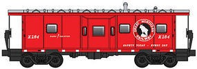 WalthersMainline International Bay Window Caboose Great Northern #184 HO Scale Model Train Freight Car #8660