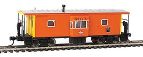WalthersMainline International Bay Window Caboose Ready to Run Milwaukee Road 992216