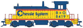 WalthersMainline EMD SW1 B&O/Chessie #8419 HO Scale Model Train Diesel Locomotive #9217