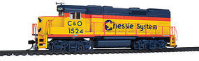 WalthersMainline EMD GP15-1 Chessie System #1524 HO Scale Model Train Diesel Locomotive #9406