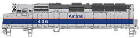 WalthersMainline EMD F40PH Amtrak #406 HO Scale Model Train Diesel Locomotive #9453