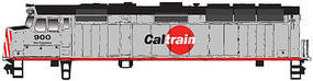 WalthersMainline EMD F40PH Caltrain #900 HO Scale Model Train Diesel Locomotive #9457