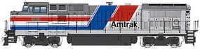 WalthersMainline GE Dash 8-40BW Amtrak #503 HO Scale Model Train Diesel Locomotive #9551
