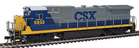 WalthersMainline GE Dash 8-40BW CSX #5933 HO Scale Model Train Diesel Locomotive #9557