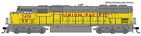 WalthersMainline EMD SD60M - Standard DC Union Pacific(R) #2438 (yellow, gray, red)