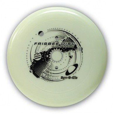 Wham-O Dyn-O-Glo Glow-in-the-Dark Frisbee (130g)