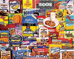 WhiteMount Cookies Brands Collage Puzzle (1000pc) (D)
