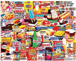 WhiteMount Things I Ate As A Kid Collage Puzzle (1000pc)