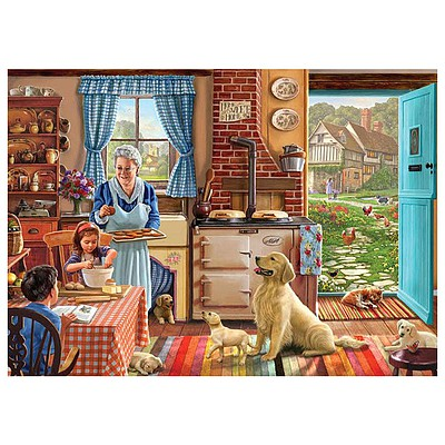 White Mountian Puzzles Home Sweet Home 1000pcs