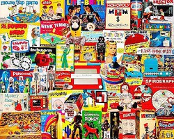 WhiteMount I Had One of Those Classic Toys Collage Puzzle (1000pc)